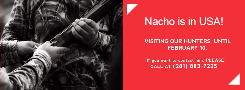 nacho-usa Argentina wingshooting