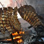 Argentina dove hunting asado